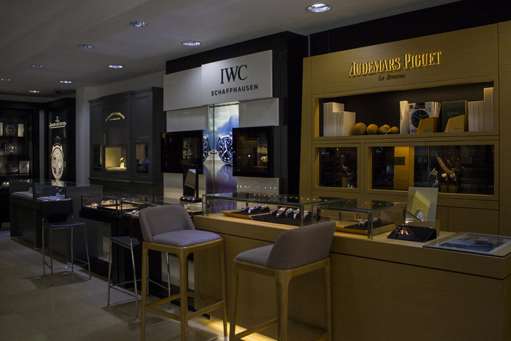 IWC showcase at Jewels in Paradise