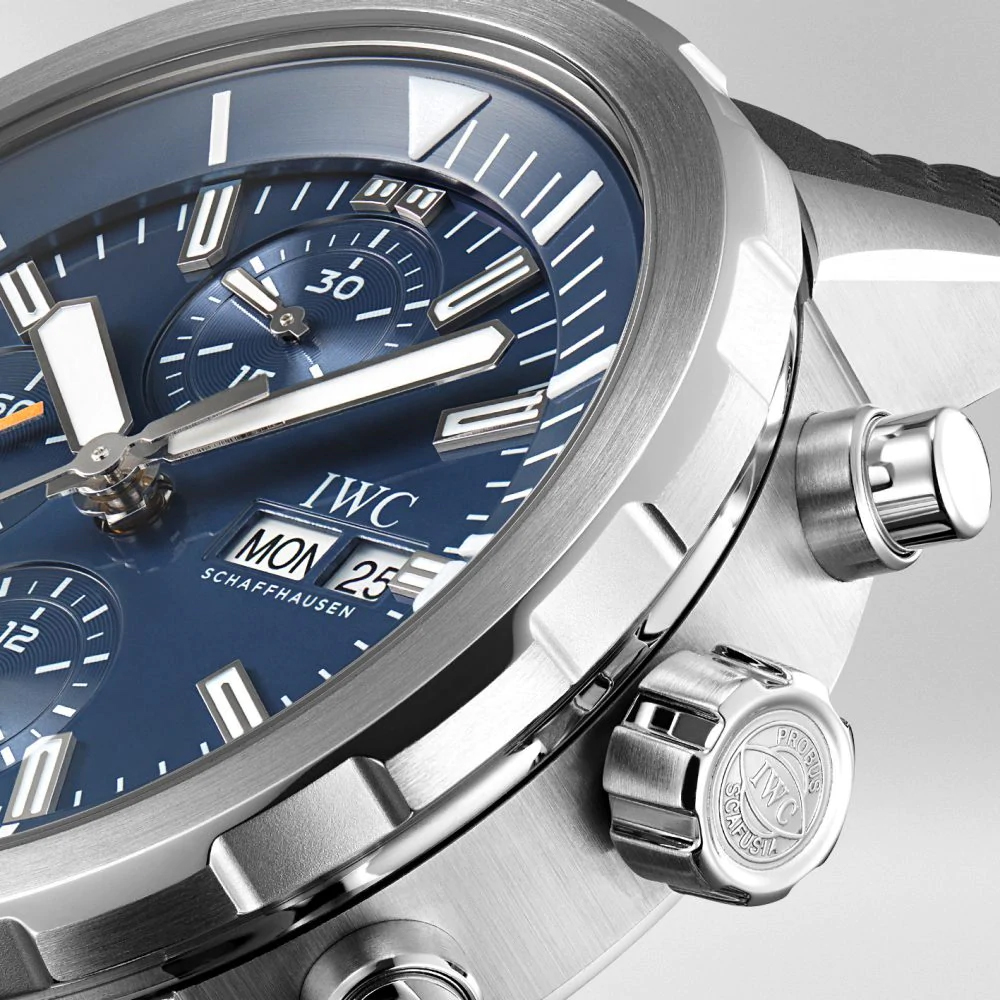 "IW376805 - IWC Aquatimer Chronograph Edition ""Expedition Jacques-Yves Cousteau"" Stainless Steel"