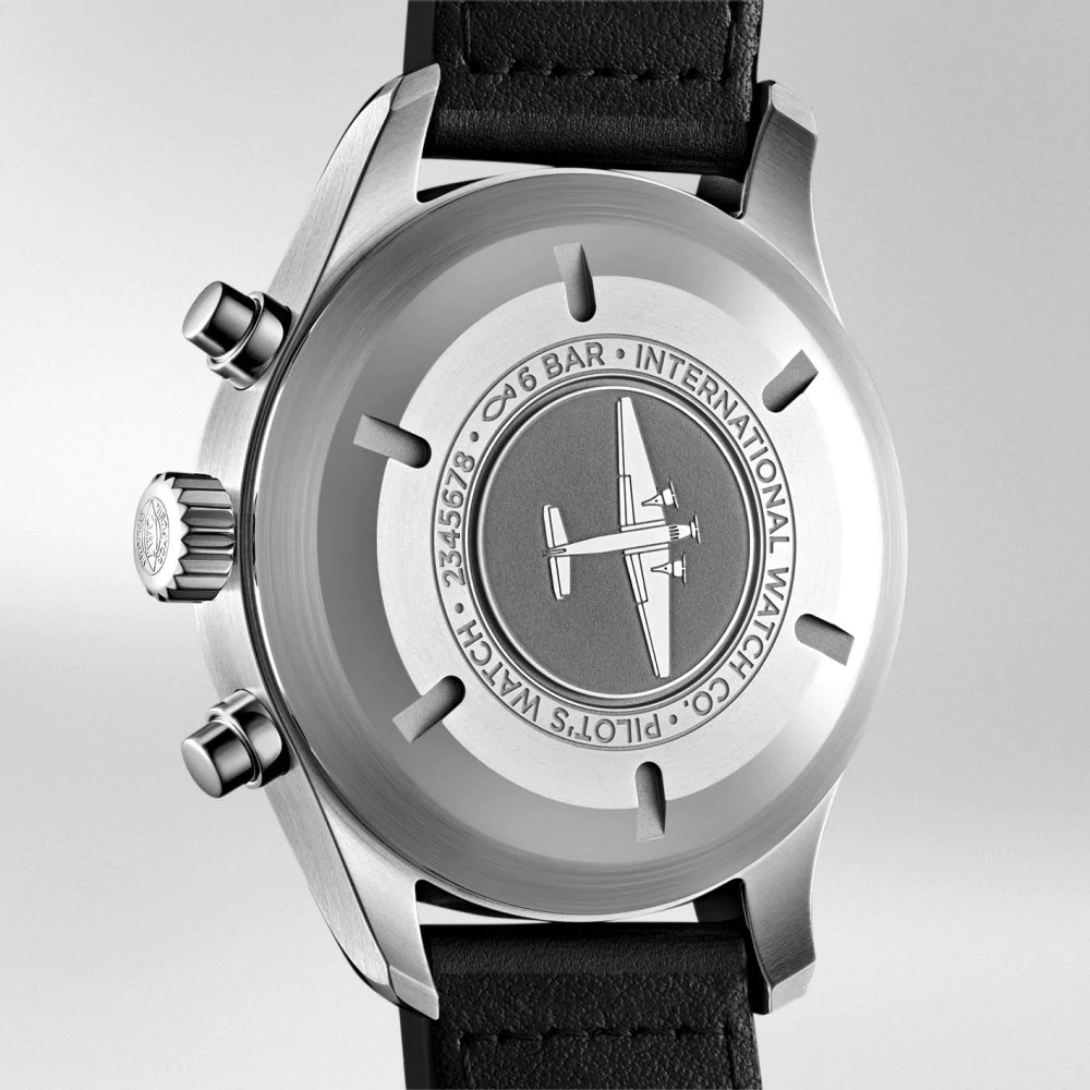 IW377709 PILOT'S WATCH CHRONOGRAPH Case Back