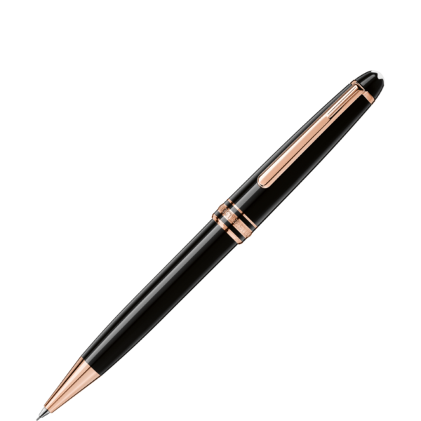 MeisterstÌ_ck Red Gold-Coated Classique Mechanical Pencil