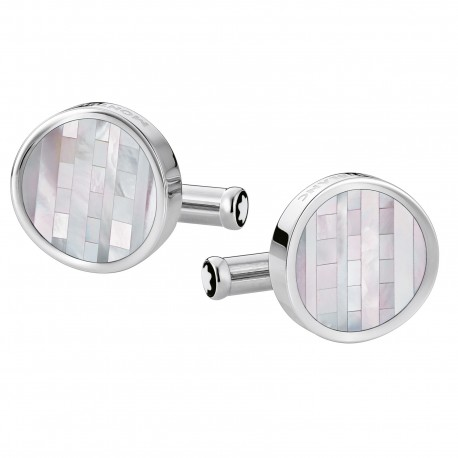 Montblanc STRIPES CUFFLINKS RN 109499
