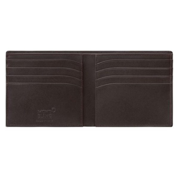 Montblanc MST WALLET 8CC BROWN 114544