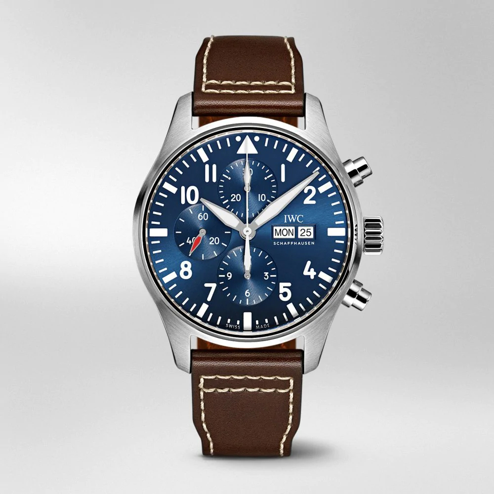 """IW377714 PILOT'S WATCH CHRONOGRAPH EDITION """"LE PETIT PRINCE"""" Blue Dual Stainless steel"""