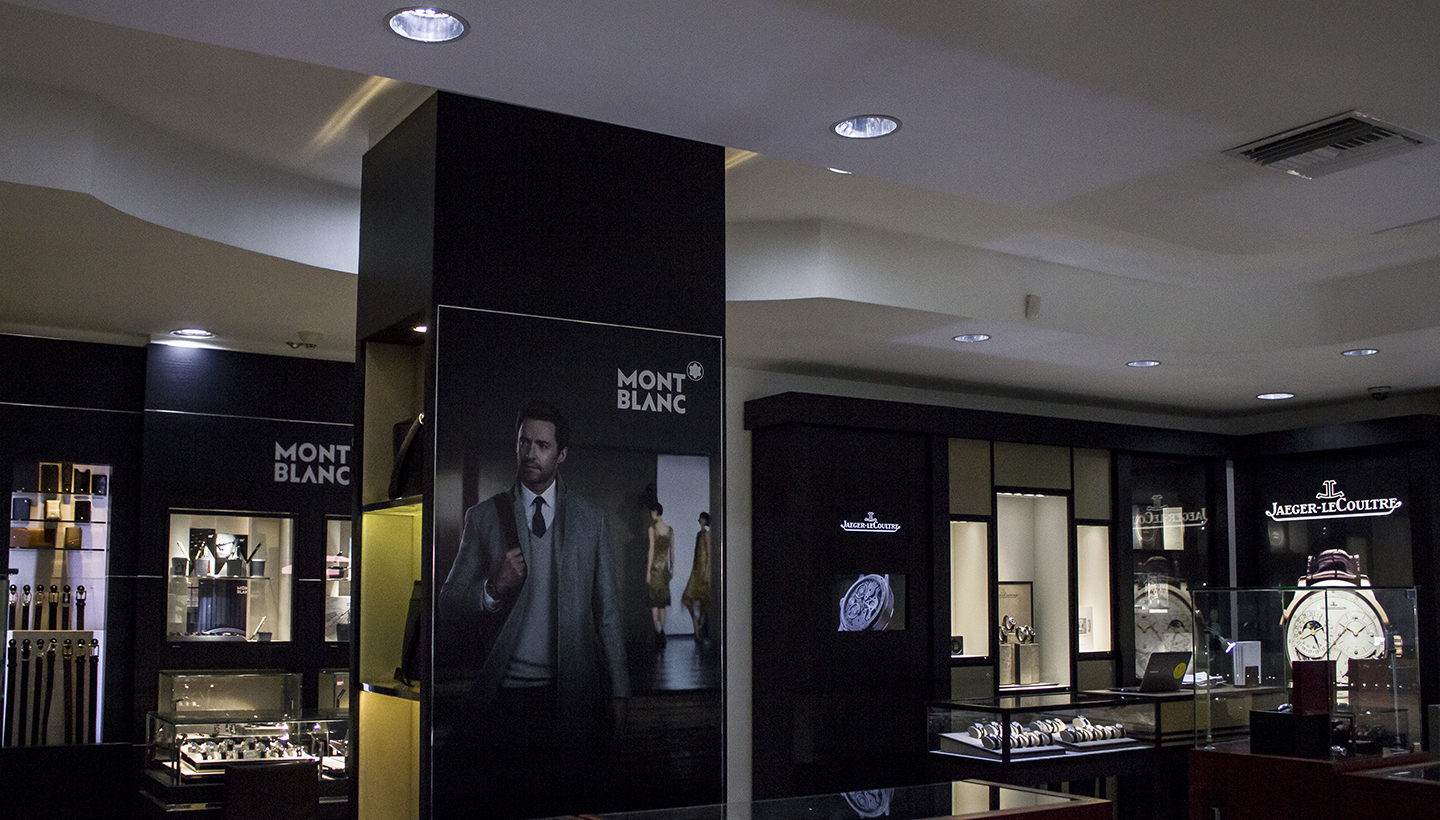 Montblanc Showcase Jewels in Paradise