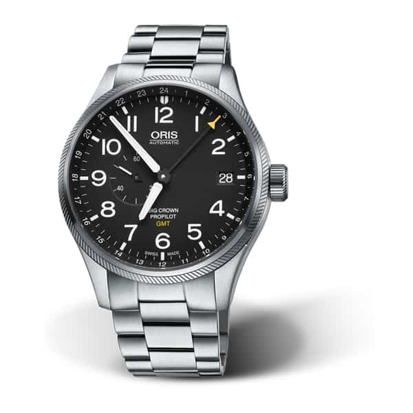 748 7710 4164-07 8 2 - Oris Big Crown Propilot Gmt, Small Second