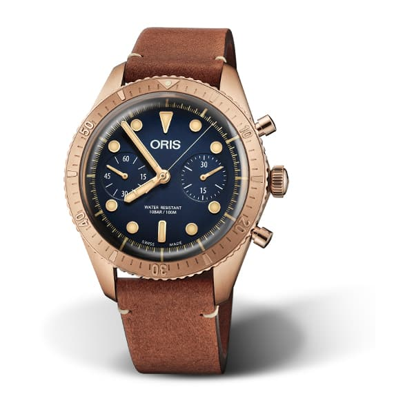 01 771 7744 3185-SET - Oris Carl Brashear Chronograph Limited Edition