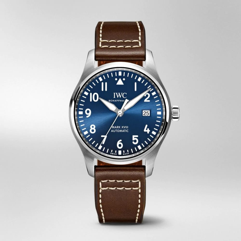 "IW327010 PILOT'S WATCH MARK XVIII EDITION ""LE PETIT PRINCE"" Blue Dial"