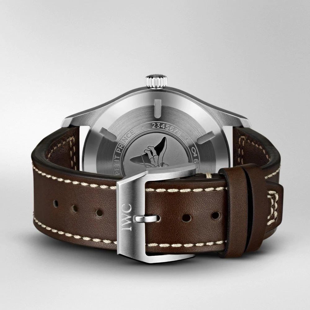 "IW327010 PILOT'S WATCH MARK XVIII EDITION ""LE PETIT PRINCE"" Brown Leather Strap"