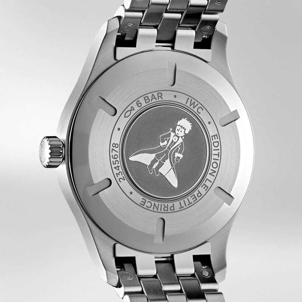 "IW327016 PILOT'S WATCH MARK XVIII EDITION ""LE PETIT PRINCE"" Back"