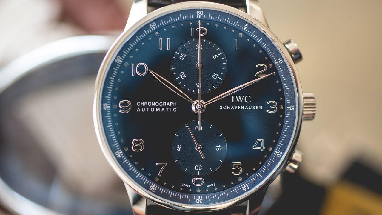 IW371491 – IWC Portugieser Chronograph Blue Dial