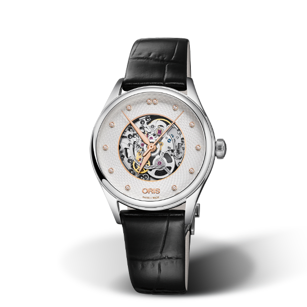 01 560 7724 4031-07 5 17 64FC — Oris Artelier Skeleton Diamonds