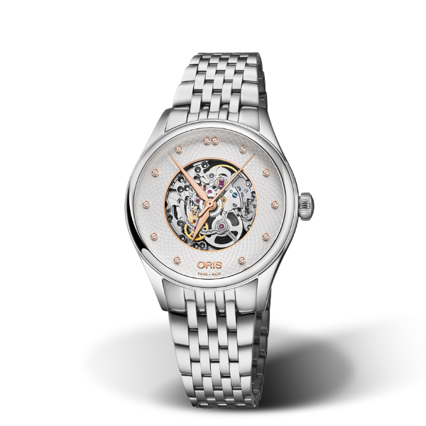 01 560 7724 4031-07 8 17 79 — Oris Artelier Skeleton Diamonds