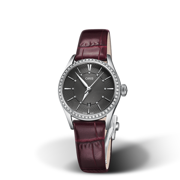 01 561 7722 4953-07 5 14 63FC — Oris Artelier Date Diamonds