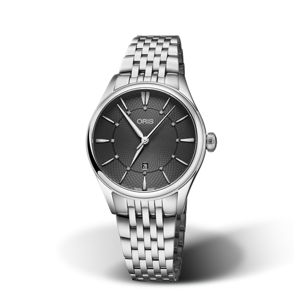 01 561 7724 4053-07 8 17 79 — Oris Artelier Date Diamonds