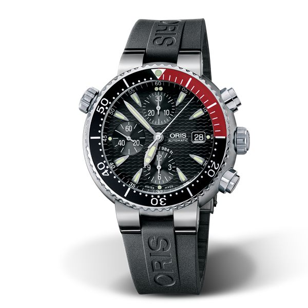 01 674 7542 7154-07 4 24 34TEB — Oris Divers Titan Chronograph