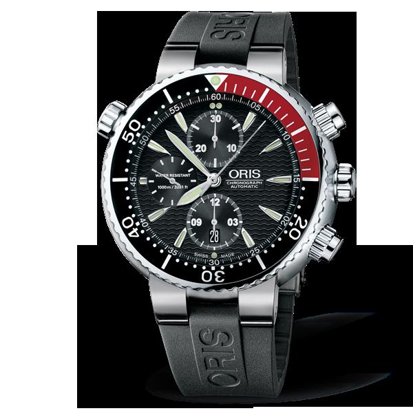 01 674 7599 7154-07 4 24 34TEB — Oris Divers Titan Chronograph