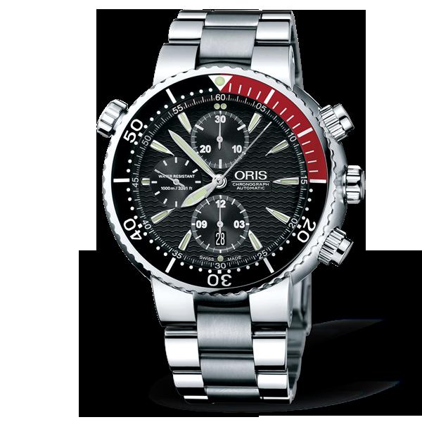 01 674 7599 7154-07 8 24 70PEB — Oris Divers Titan Chronograph