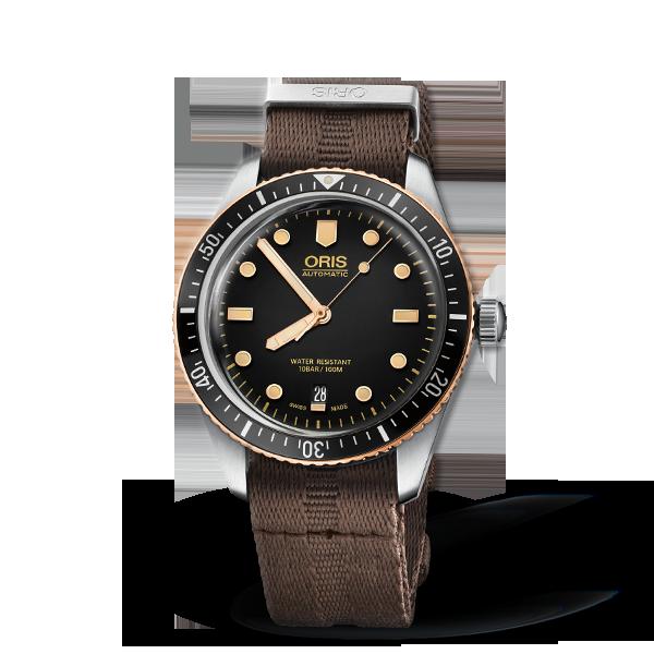 01 733 7707 4354-07 5 20 30 — Oris Divers Sixty-Five