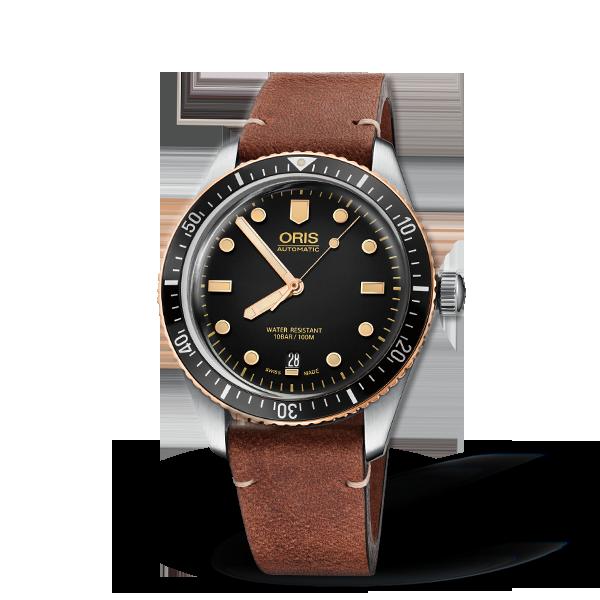 01 733 7707 4354-07 5 20 45 — Oris Divers Sixty-Five