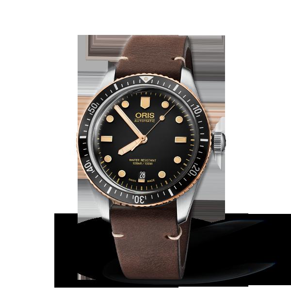 01 733 7707 4354-07 5 20 55 — Oris Divers Sixty-Five