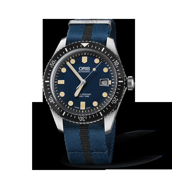 01 733 7720 4055-07 5 21 28FC — Oris Divers Sixty-Five