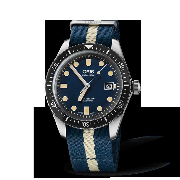 01 733 7720 4055-07 5 21 29FC — Oris Divers Sixty-Five