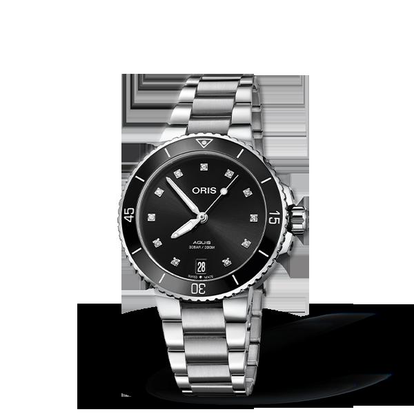 01 733 7731 4194-07 8 18 05P — Oris Aquis Date Diamonds