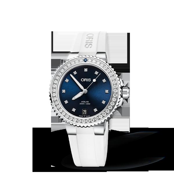 01 733 7731 4995-07 4 18 63FC — Oris Aquis Date Diamonds