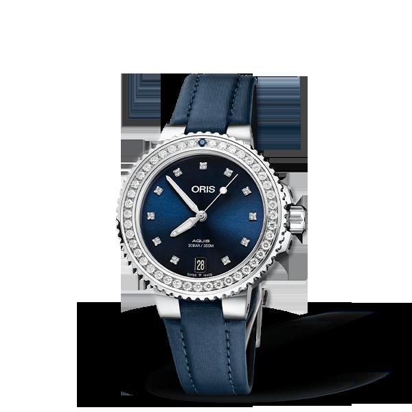 01 733 7731 4995-07 5 18 46FC — Oris Aquis Date Diamonds
