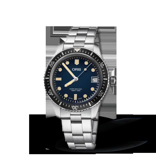 01 733 7747 4055-07 8 17 18 — Oris Divers Sixty-Five