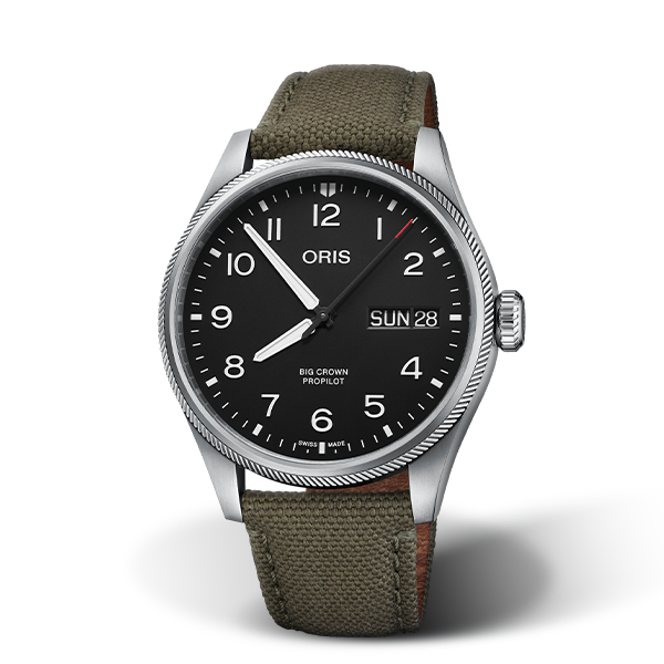 01 752 7760 4164-07 3 22 02LC — Oris Big Crown ProPilot Big Day Date