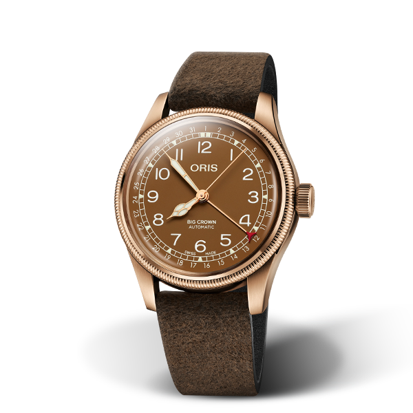 01 754 7741 3166-07 5 20 74BR — Oris Big Crown Bronze Pointer Date
