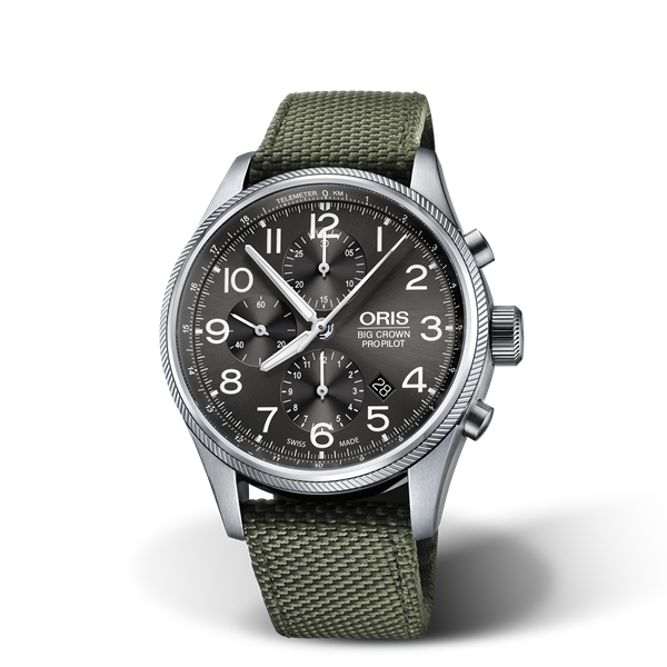 01 774 7699 4063-07 5 22 14FC — Oris Big Crown ProPilot Chronograph