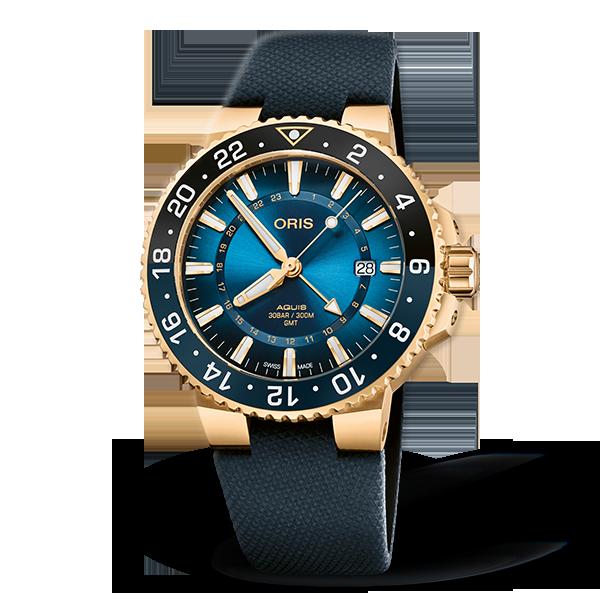 01 798 7754 6185-Set — Oris Carysfort Reef Gold Limited Edition