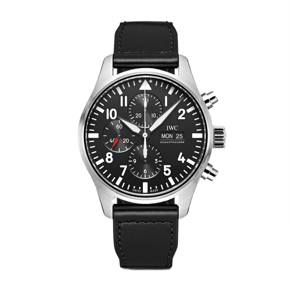 IW377709 — IWC Schaffhausen Pilot's Watch Chronograph