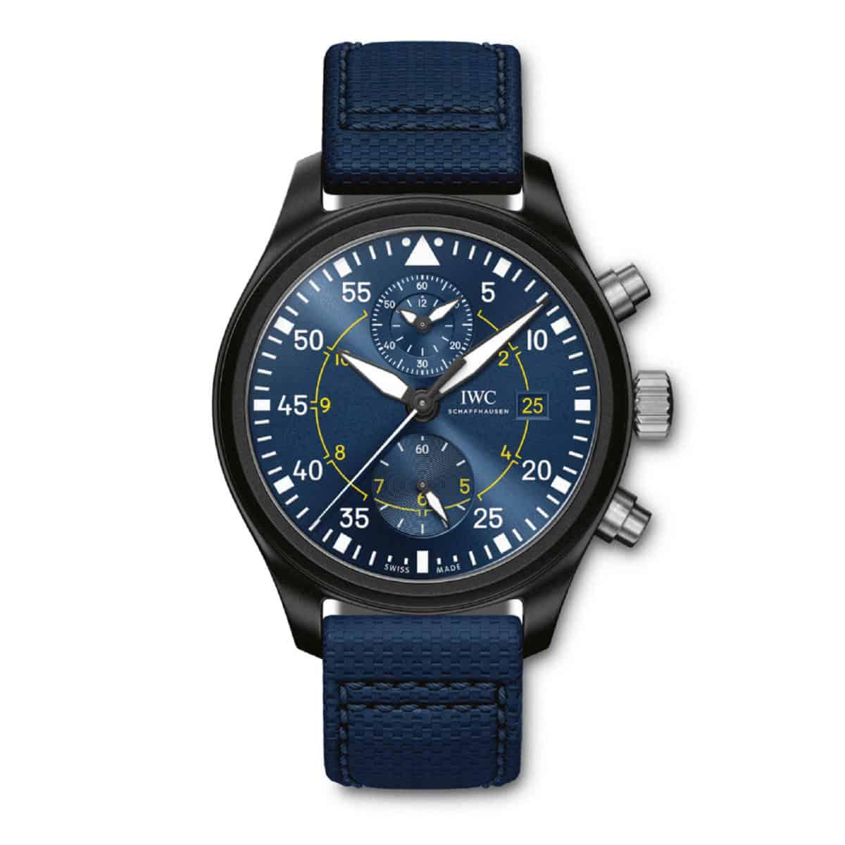 "IW389008 — IWC Schaffhausen Pilot's Watch Chronograph Edition ""Blue Angels®"""