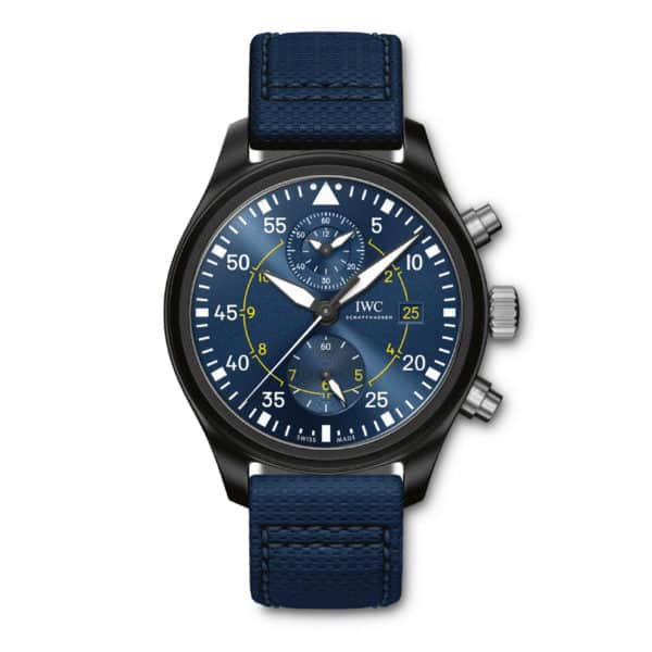 "IW389008 — IWC Schaffhausen Pilot's Watch Chronograph Edition ""Blue Angels®"""