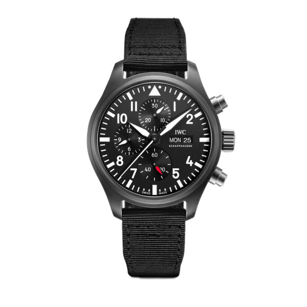 IW389101 — IWC Schaffhausen Pilot's Watch Chronograph TOP GUN