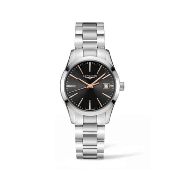 L23864526 — Conquest Classic 34mm Stainless Steel