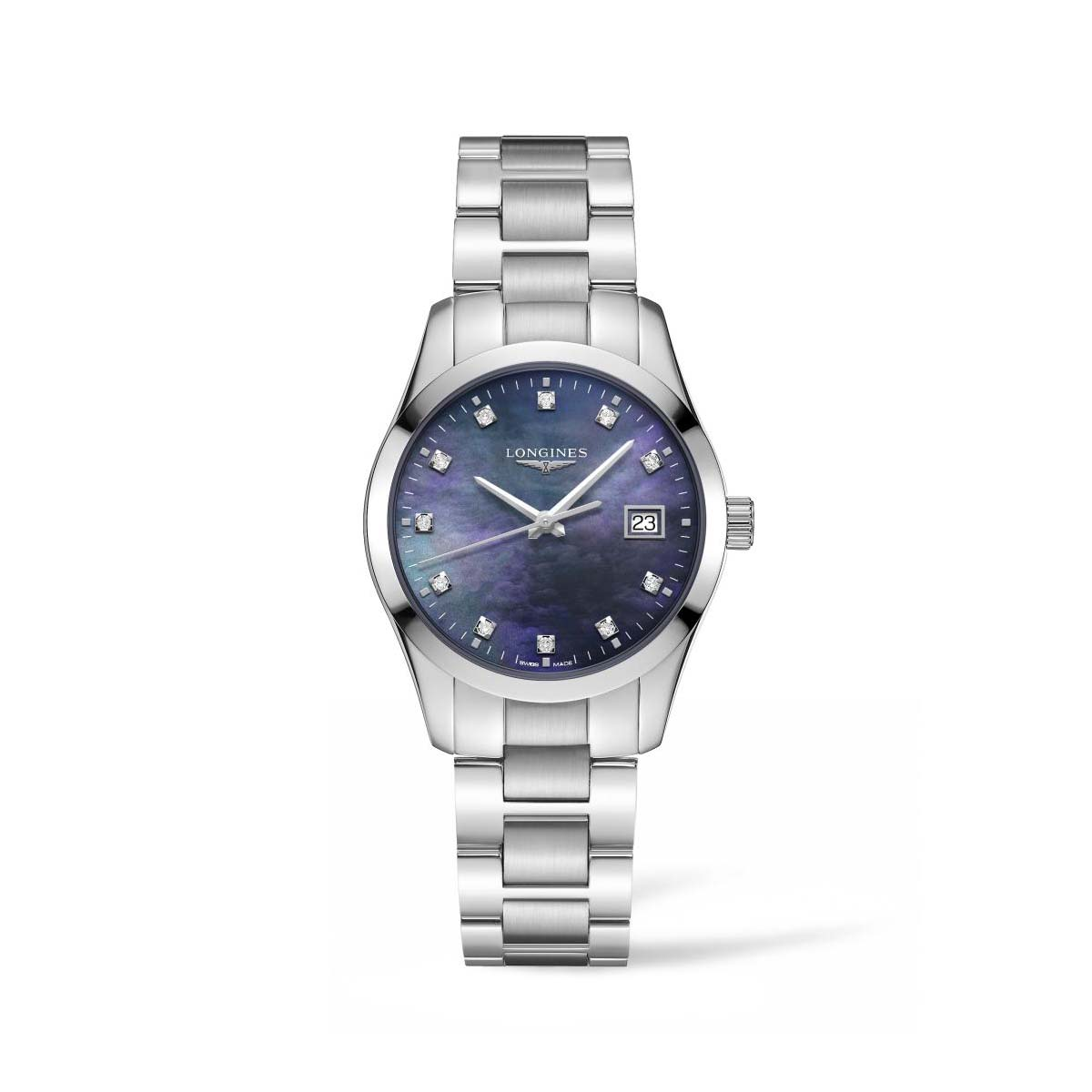 L23864886 — Conquest Classic 34mm Stainless Steel