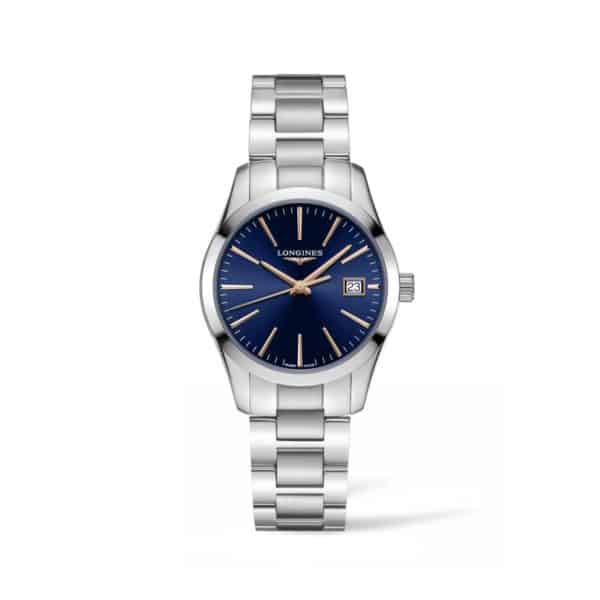 L23864926 — Conquest Classic 34mm Blue Dial Stainless Steel