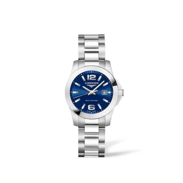 L33764966 — Conquest 29mm Blue Dial Stainless Steel