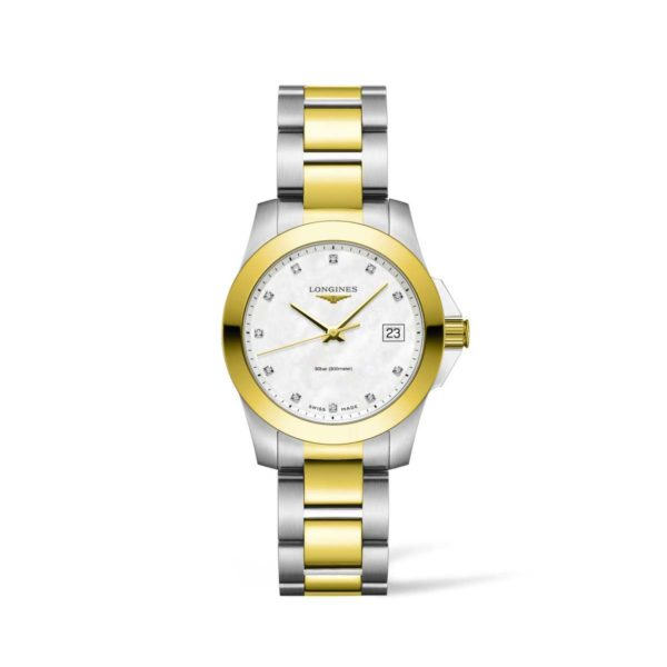 L33773877 — Conquest 34mm Stainles Steel/PVD
