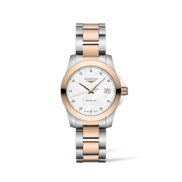 L33773887 — Conquest 34mm Stainles Steel/PVD