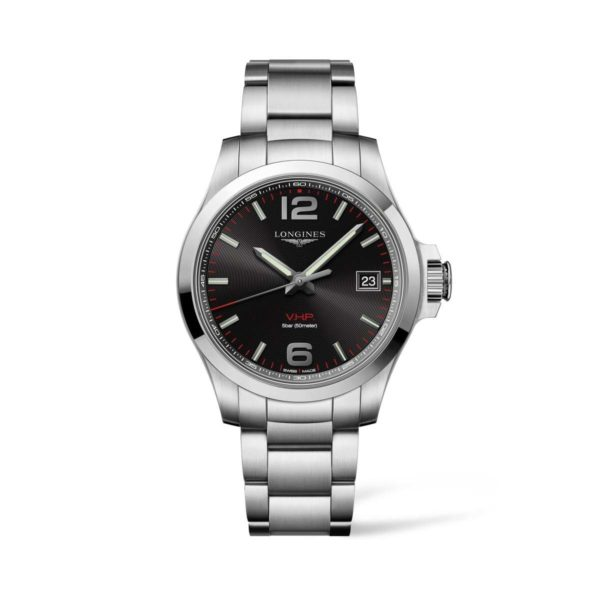 L37164566 — Conquest V.H.P. 41mm Stainless Steel