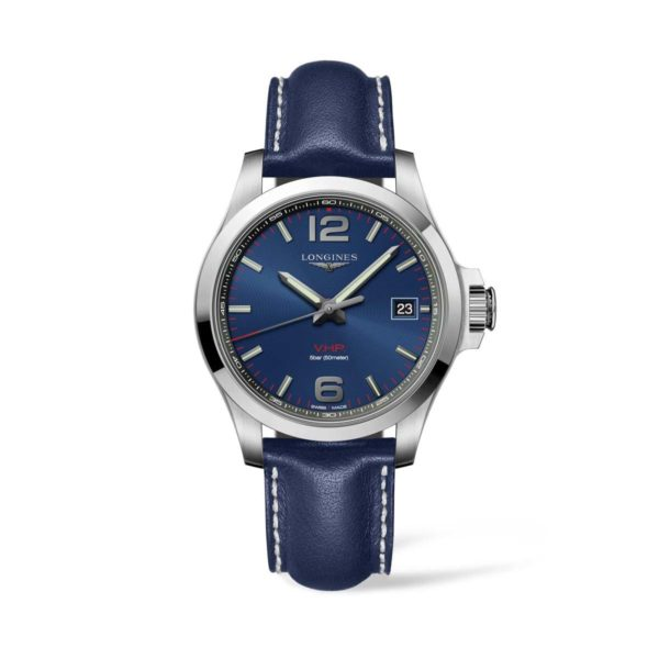 L37164960 — Conquest V.H.P. 41mm Stainless Steel