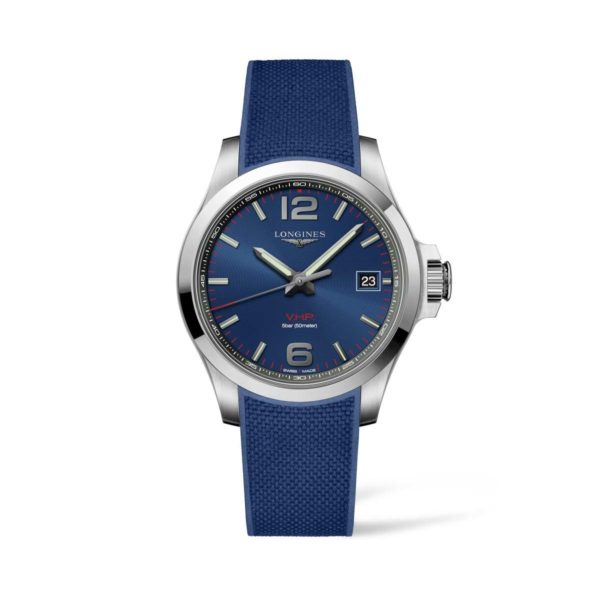 L37164969 — Conquest V.H.P. 41mm Blue Dial Stainless Steel