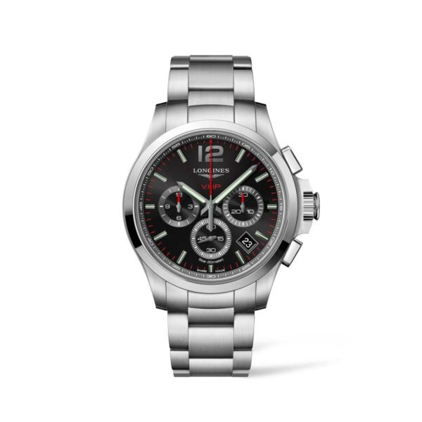 L37174566 — Conquest V.H.P. 42mm Stainless Steel
