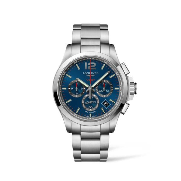 L37174966 — Conquest V.H.P. 42mm Blue Dial Stainless Steel