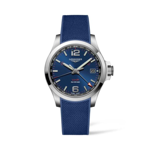 L37184969 — Conquest V.H.P. 41mm Blue Dial Stainless Steel